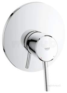 Grohe Tec Brassware -  Concetto Ohm Trimset Shower 19345001