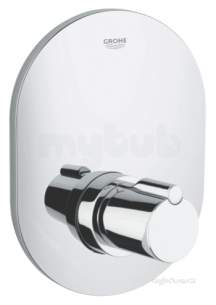 Grohe Shower Valves -  Tenso Rapido Central Thm Trim 19400000