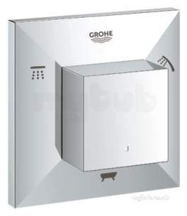 Grohe Tec Brassware -  Allure Brilliant Diverter Trimset 19798000