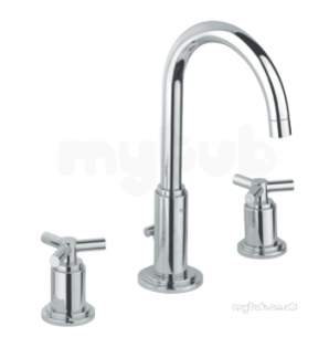 Grohe Tec Brassware -  Atrio Yps 3-h Basin Mdeck Mounthigh Sp 20008000