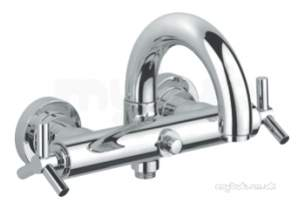 Grohe Tec Brassware -  Atrio Ypsilon Exposed Bath Mixer 25010000