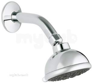 Grohe Shower Valves -  Grohe Jet 3 Spray Shower Head 27291000