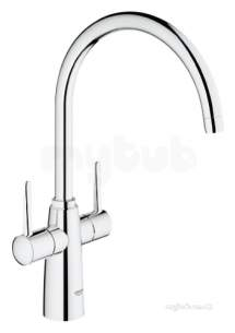 Grohe Kitchen Brassware -  Grohe Ambi Contemporary 2 Hnd Sink Mixer 30189000