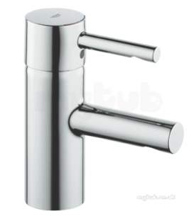Grohe Tec Brassware -  Essence Ohm 1-h Basin M Smooth Bflex H 34294000