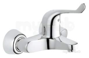 Grohe Tec Brassware -  Euroeco Spezial Single Wall Basin Mixer 32794000