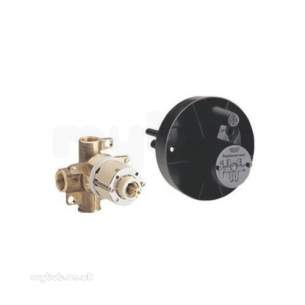 Grohe Shower Valves -  Grohe Europlus 33962 1/2 Inch Shower Mixer Body Cp