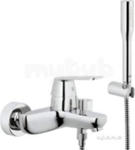 Grohe Tec Brassware -  Grohe Eurosmart Cosmo Exp Bath/shower Set Cp