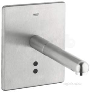 Grohe Tec Brassware -  Euro Plus E Basin Wall Mixer 36242sd0