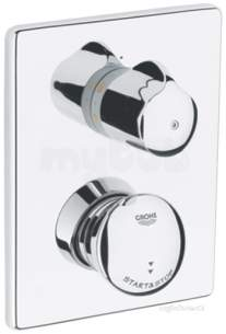 Grohe Tec Brassware -  Eud Se Shower Mixer Concealed 36247000