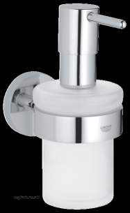 Grohe Tec Brassware -  Grohe Essentials Soap Dispenser Wall Mounted Replaced By 40394000