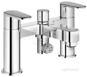 Grohe Tec Brassware -  Grohe 25133 Europlus Deck Mtd Bsm Cp