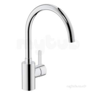 Grohe Tec Brassware -  Grohe Eurosmart Cosmo High Spout Sink Mixer Cp