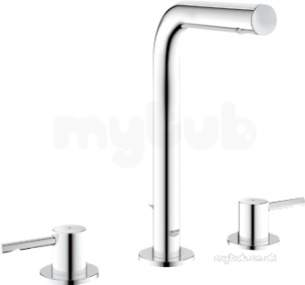 Grohe Tec Brassware -  Grohe 20299 Essence 3th Basin Mixer Cp