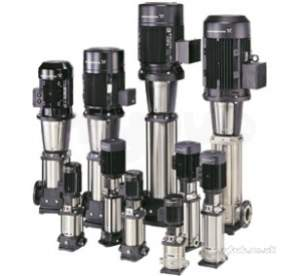Grundfos Industrial Products -  Grundfos Multi-e 3 Crie 5-16 Booster Set 3ph 96152331