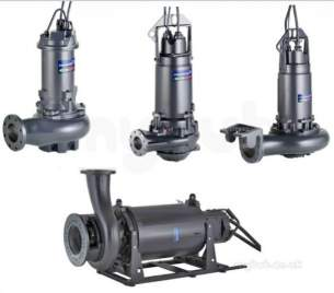 Grundfos Industrial Products -  S1.80.125.300.4.62h Sump Pump Atex 3ph 95113260
