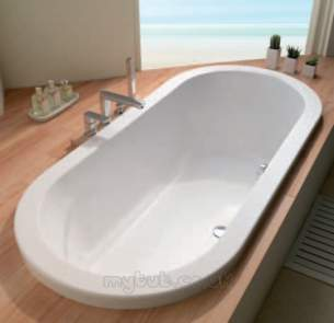 Eastbrook Baths -  Eastbrook 23.5401 Halcyon Carronite White