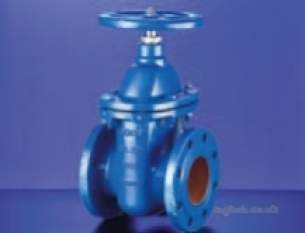 Hattersley Non Project Valves -  Hnh 1541e Cast Iron Gate Valve 150mm