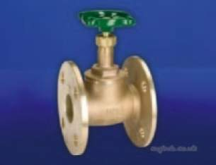 Hattersley Std Valves -  Hnh-17pn16 Flanged Bronze Globe Valve 20