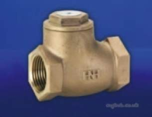 Hattersley Top Valves -  Hnh-47 Bsp Bronze Swing Check Valve 32