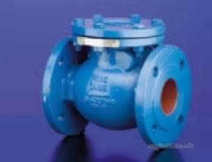 Hattersley Std Valves -  Hnh M650 Sg Iron Pn25 Check Valve 250