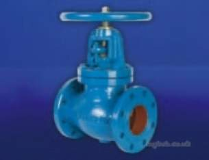 Hattersley Top Valves -  Hnh M731 Ci Globe Valve Pn16 200mm