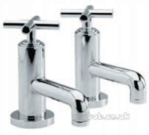 Eastbrook Brassware -  4.1208 Helix Pair Bath Taps.body Only Ch