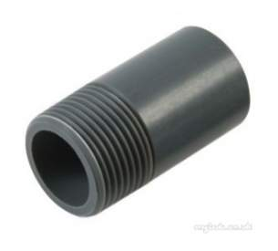 Durapipe Pvc Fittings 1 14 and Above -  Durapipe Upvc Hex Nipple Plain/bsp Threaded 316109 3