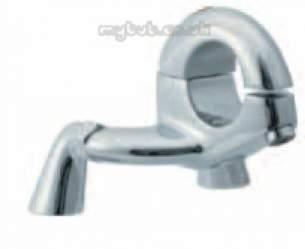 Eastbrook Brassware -  4.1252 Hola Deck Mounted Bath Filler Ch