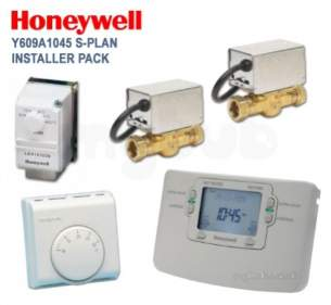 Honeywell Domestic Controls and Programmers -  Honeywell Y609a1045 7 Day S Plan Pack
