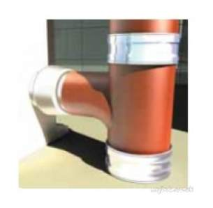 Hargreaves Halifax Cast Soil Range -  Hs Boss Pipe 2 Bosses At 90 Deg 100mm