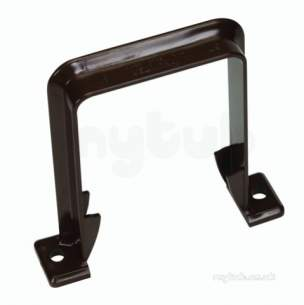 Hunter Plastics Above Ground -  Squareflo 65mm Pipe Bracket R388-w