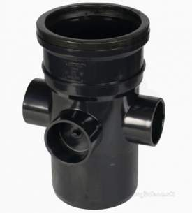 Hunter Plastics Above Ground -  110mm X50mm Boss Pipe Spigot Tail S244-v