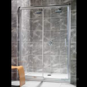 Twyford Geo6 and Hydr8 Enclosures -  Twyford Hydr8 1600mm Slider Door Cp Hydr8 1600mm Slidr