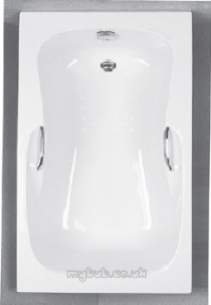 Eastbrook Baths -  23.0121 Ibis Tg 1700 X 700 5mm White