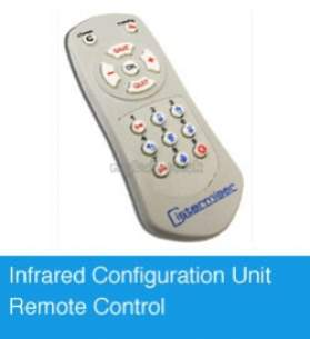 Cistermiser Flush Control Valve -  Infrared Configuiration Unit Remote