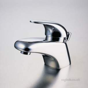 Ideal Standard Brassware -  Ideal Standard Domi-solo A7600 Mono Basin Mixer Puw Chrome Plated Special