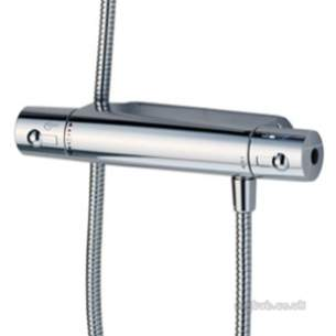 Ideal Standard Brassware -  Ideal Standard Alto E/therm A4899 Exp 150mm Shower And W/fix