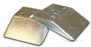 Ideal Standard Brackets and Hangers -  Ideal Standard E5010 Conc Wall Hanger Brackets Pair Stl