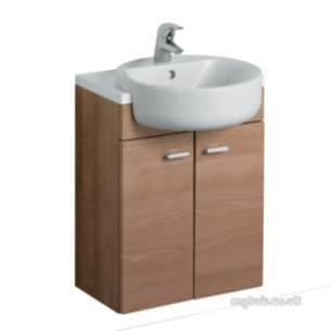 Ideal Standard Concept Furniture -  Ideal Standard Concept E6454wg W/h 600 Basin Unit Gl Wh