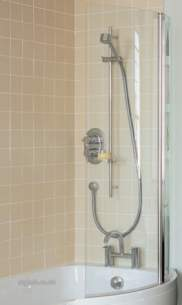 Ideal Standard Sottini Showers -  Ideal Standard Oracle E6938 Over Bath Shower Screen