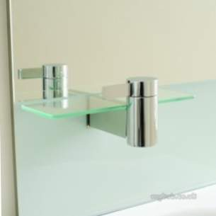 Ideal Standard Art and design Accessories -  Ideal Standard Tonic Guest N1073 Side Glass Shelf Cp