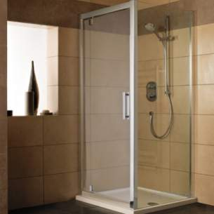 Trevi Shower Enclosures -  Ideal Standard Synergy L6299 Piv Dr Pnl 1200mm Sil Clr