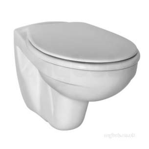 Armitage Shanks Mid Range Sanitaryware -  Armitage Shanks Ecco Wall Hung Pan Bowl 6l Wh