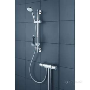 Ideal Standard Showers -  Ideal Standard Boost Exposed Shower Valve With Idealrain M1 Shower Kit Chrome A5699aa