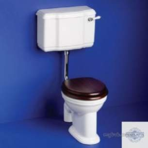 Ideal Standard Art and Design -  Ideal Standard Charlotte S6430si Low Level Cistern With Blue Logo-special