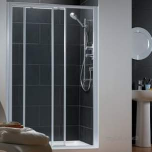 Trevi Shower Enclosures -  Ideal Standard Connect L8085aa Slider 1000 Fr Modest Sl