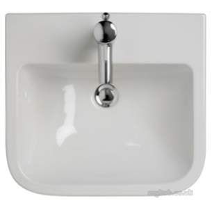 Ideal Standard Create -  Ideal Standard Square E310601 50cm Semi Cntp Basin 2th