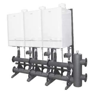 Ideal Industrial Boilers -  Evomax Frm Hdr Kit Bk To Bk X2 30-100kw