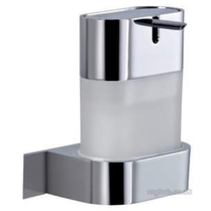 Ideal Standard Art and design Accessories -  Ideal Standard Simplyu N1302 Soap Dispenser And Holder