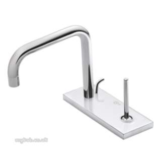 Ideal Standard Art and design Brassware -  Ideal Standard Simplyu A4486 Sl 2th Puw Basin Mixer Cp